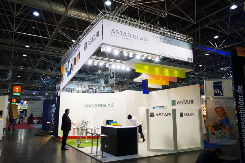 ASTARi Euroshop exhibition booth 2014