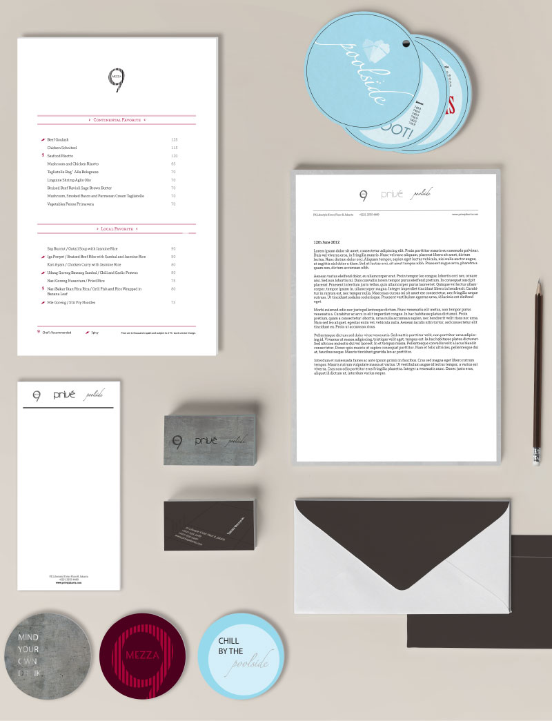 prive stationery